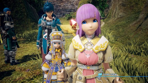 Star Ocean V dispose d'un charadesign bien à lui.