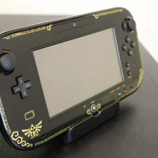 Mon défunt Wii U Gamepad édition collector Legend of Zelda :( !