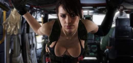 Ne vous fiez pas aux apparence : Quiet est le Sniper le plus redoutable du jeu !