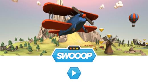 Swooop est un jeu très sympa en HTML5 et sur mobiles !