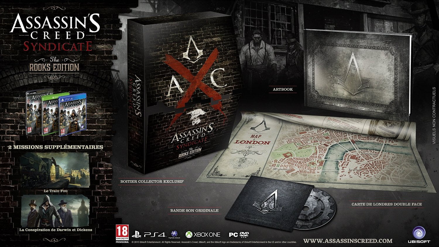 Promo : Assassin's Creed Syndicate édition collector The ...