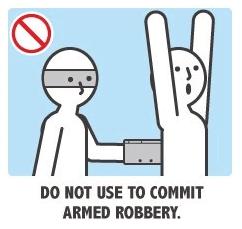 N'utilisez pas votre 3DS pour commettre des vols à main armée.