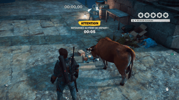 Just Cause 3 vache