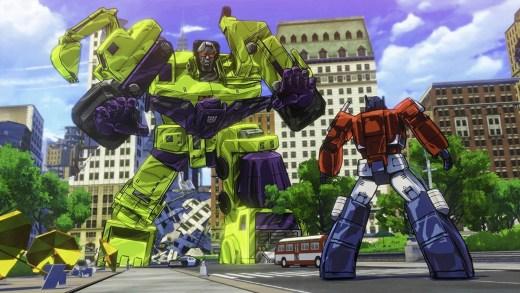 Arrêtez vous ou moi, Optimus Prime, je vous botte le c** !