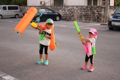 Au Japon, on peut croiser des enfants déguisés en Inklings !