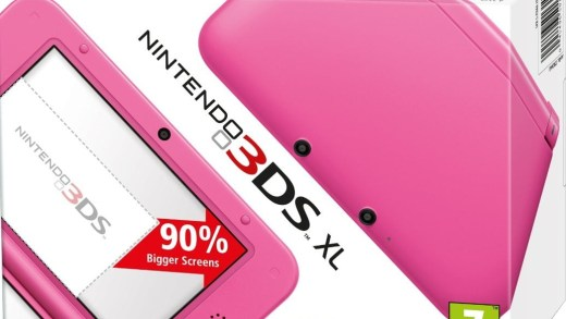 Bah quoi ? Vous n'aimez pas les 3DS XL roses ?