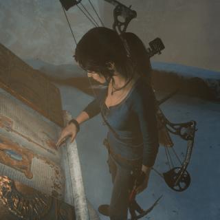 Lara Croft à la découverte de la sorcière Baba Yaga !