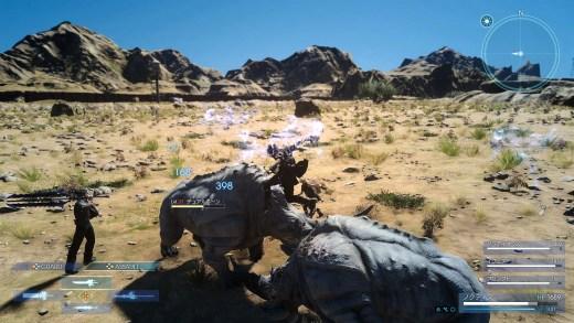 des rhinocéros dans Final Fantasy XV ?