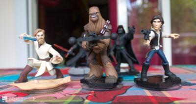 Chewbacca, Han Solo et Obiwan !