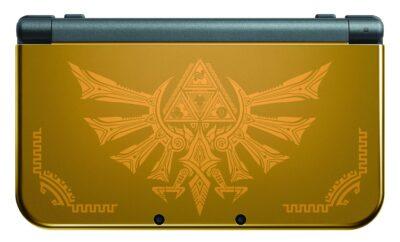 La new 3DS XL Zelda Hyrule Warriors est magnifique !