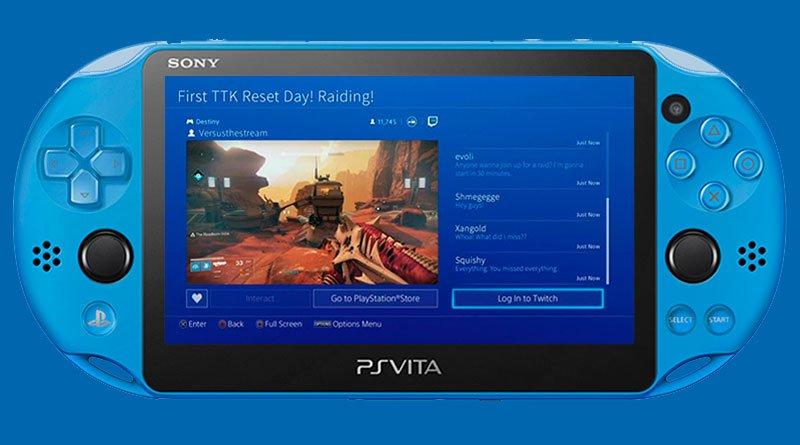 Au Japon, ils ont carrément des PS Vita de couleur, avec... L'application Twitch qui doit arriver prochainement !