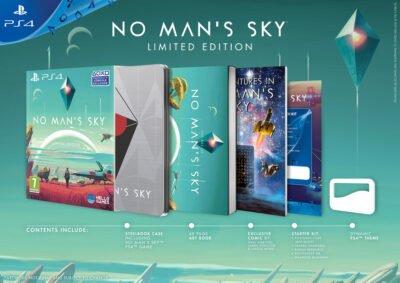 No man's Sky, le collector PS4