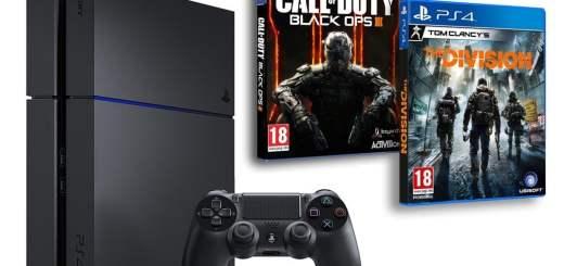 """Petite promotion avec The Division """"Offert"""" pour l'achat d'un pack PS4 Black Ops III !"""