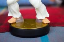 Ces renforts au niveau des pieds ne sont pas du plus bel effet.