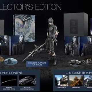 L'édition collector de Final Fantasy XV