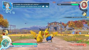 Ceci est deux Pikachu. Pour les différencier, l'un d'entre eux a décidé d'enfin ne plus être à poil.