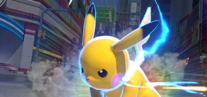 Pikachu est parfois très menaçant dans ce Pokken...