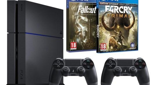 Le pack PS4 avec 2 jeux et 2 manettes est plutôt intéressant ;) !