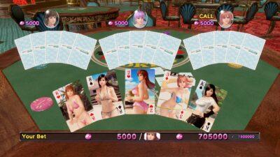 La vous jouez au Black Jack avec les autres demoiselles. Elles sont représentées sous forme d'avatars -_- !