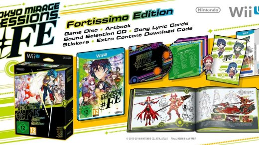 Une édition collector pour Tokyo Mirage Sessions FE en Europe !