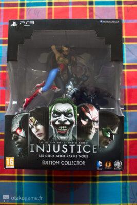 L'édition collector d'Injustice est plutôt bien présentée !
