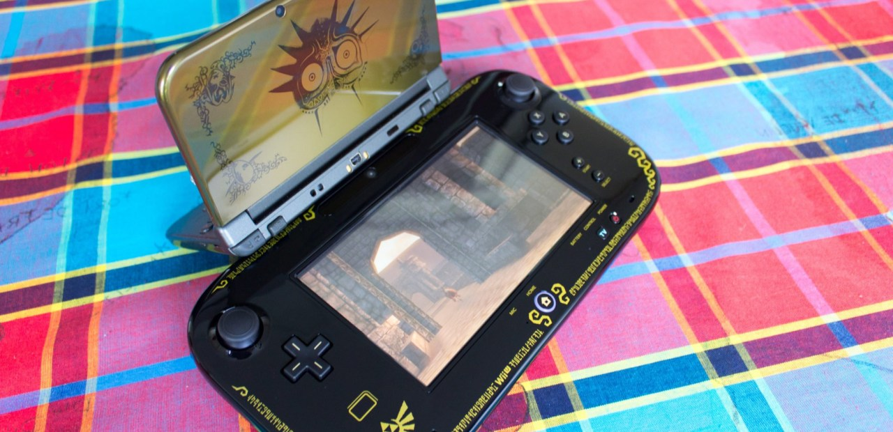 La Wii U édition collector Zelda peut enfin accompagner ma 3DS édition collector Zelda Majora's Mask !