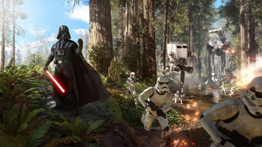 Star Wars Battlefront est un bon titre... En multijoueur !