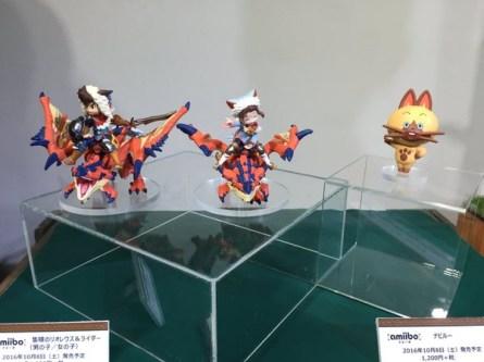 Les Amiibo Monster Hunter Stories