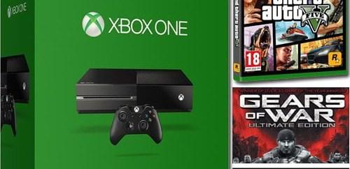 La Xbox One + GTA V + GeOW Ultimate + Forza 6 !