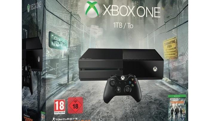 La Xbox One avec le jeu The Division, en version 1To, à seulement 299€ !