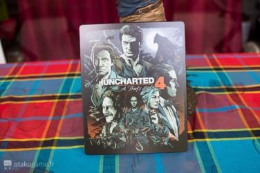 Le steelbook Uncharted 4 Collector est vraiment réussi !
