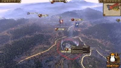 Ceci est la carte du monde, où vous pouvez conquérir ces fameux villages !
