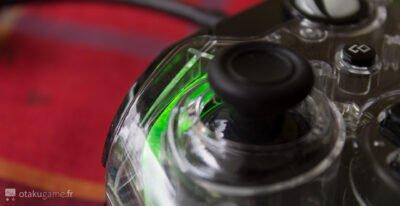 Je suis bluffé par la qualité des sticks de la manette PDP Xbox One Afterglow Prismatic