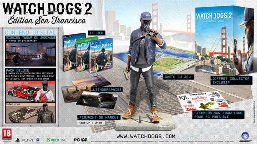 L'édition collector San Francisco de Watch Dogs 2