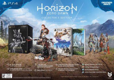 La figurine d'Aloy dans Horizon Zero Dawn (édition collector)