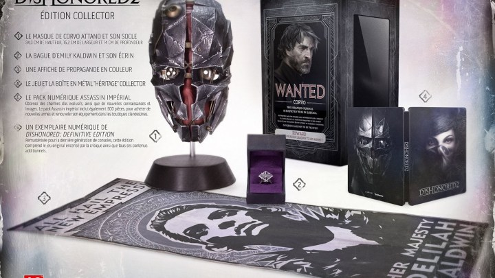 Dishonored 2 édition Collector