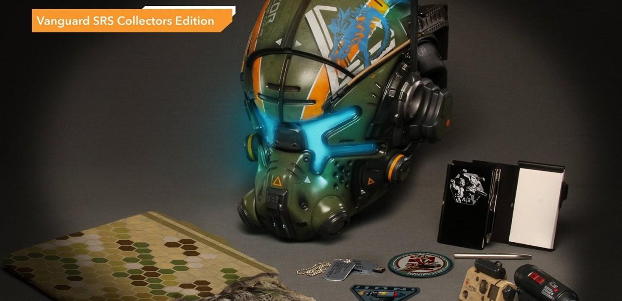 Titanfall 2 collector ( Vanguard Edition)