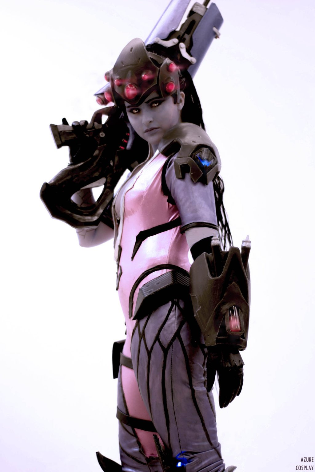 Cosplay de Fatale (Overwatch)