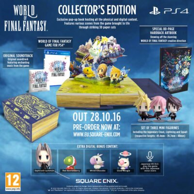 L'édition collector de World of Final Fantasy (PS4)