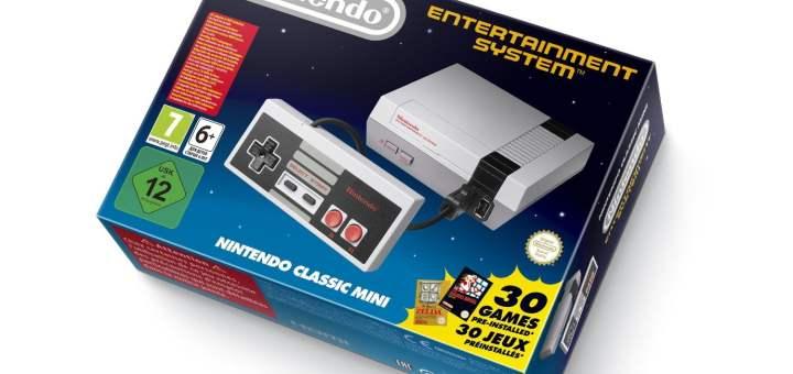 La Nintendo NES Classic enfin en précommande en France !