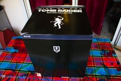 Carton de l'édition collector de Rise of The Tomb Raider