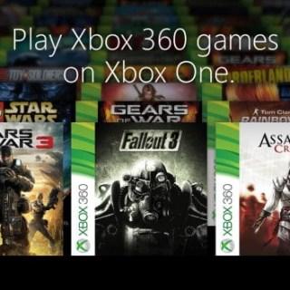 La liste complète des jeux Xbox 360 jouables sur Xbox One !