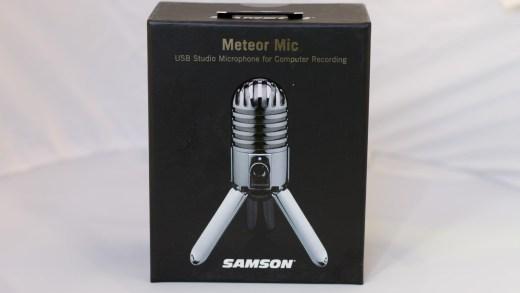 Le Samson Meteor, le micro idéal pour débuter sur Youtube ou Twitch ?