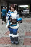 Cosplay Mei Overwatch Gamescom 2016