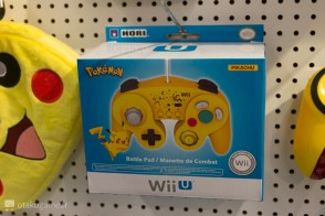 Manette Wii U officielle Pikachu
