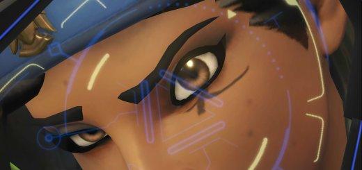 Wallpaper Overwatch Ana