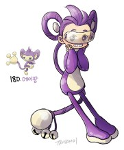 190_aipom_by_tamtamdi-d9xwlr4