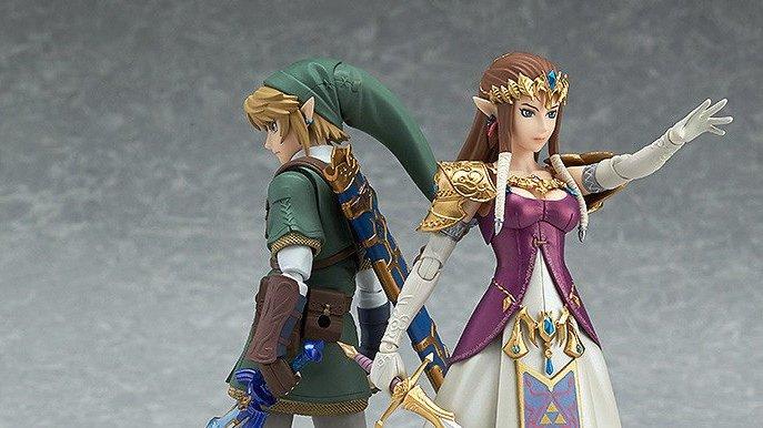 Link et Zelda dans leur version Tiwlight Princess sont juste parfaits !