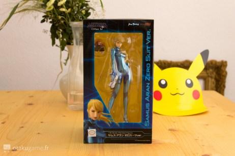 Boîte de la Figurine Zero Suit Samus