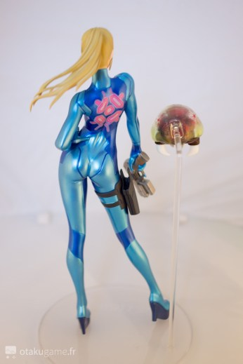Figurine de Samus Sans Armure (Zero Suit Samus) de Metroid Other M
